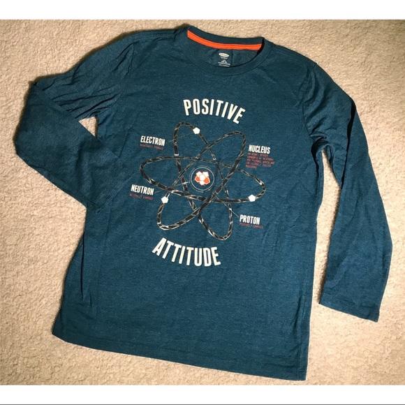39ccb7df7 Old Navy Shirts & Tops | Positive Attitude Graphic Tee | Poshmark